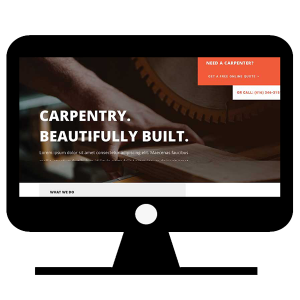 Website for carpenter