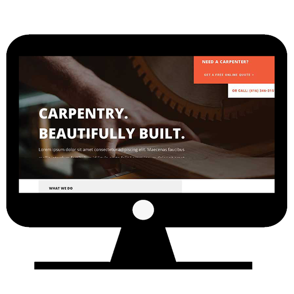Website for carpenter