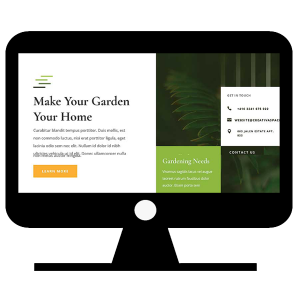 Website for Gardener Home Page